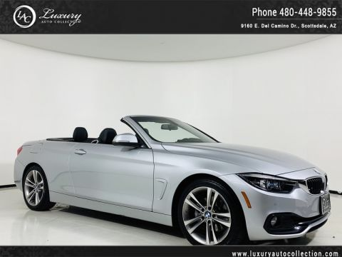 Pre-Owned 2018 BMW 4-Series 430i Convertible