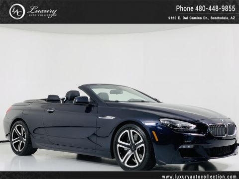 Pre-Owned 2013 BMW 6 Series 650i Convertible