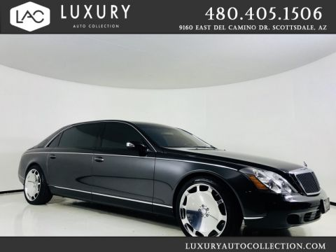 Pre-Owned 2004 Maybach 62 LWB Partitioned Sedan w/ Studio Audio