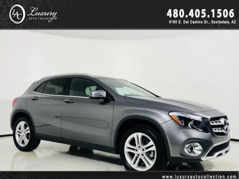 Pre-Owned 2018 Mercedes-Benz GLA 250 4MATIC® SUV 2.0L Turbo