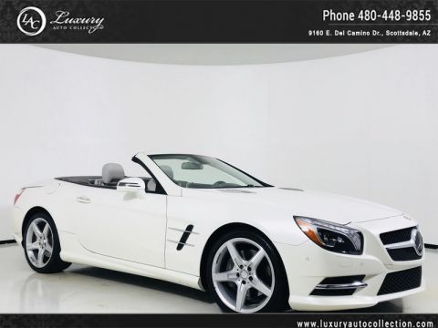 Pre-Owned 2016 Mercedes-Benz SL-Class SL 550 Roadster in designo Magno Cashmere(Matte)