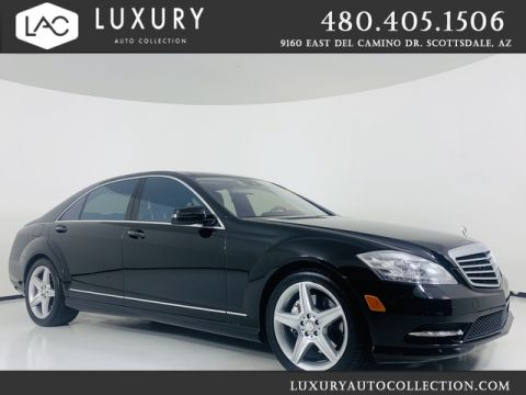 Pre-Owned 2010 Mercedes-Benz S-Class S 550 RWD Sedan