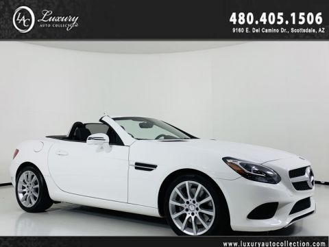 Pre-Owned 2017 Mercedes-Benz SLC SLC 300 Roadster