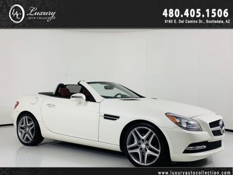 Pre-Owned 2015 Mercedes-Benz SLK SLK 250 Roadster