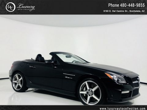 Pre-Owned 2012 Mercedes-Benz SLK SLK 55 AMG® Roadster