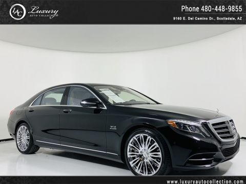 Pre-Owned 2016 Mercedes-Benz S-Class S 600 Sedan