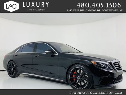Pre-Owned 2015 Mercedes-Benz S-Class S 63 AMG® 4Matic Sedan
