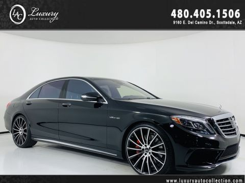 Pre-Owned 2014 Mercedes-Benz S-Class S 63 AMG® 4Matic