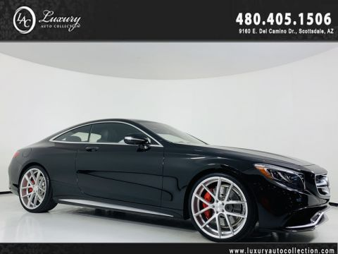 Pre-Owned 2015 Mercedes-Benz S-Class S 63 AMG® Coupe 4MATIC