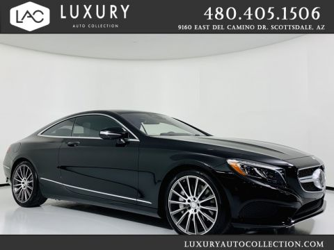 Pre-Owned 2015 Mercedes-Benz S-Class S 550 4MATIC® Coupe