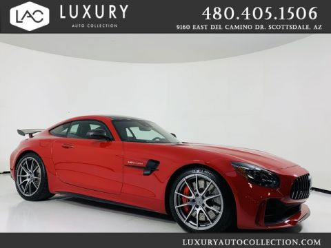 Pre-Owned 2019 Mercedes-Benz AMG® GT R Coupe in Jupiter Red/Carbon