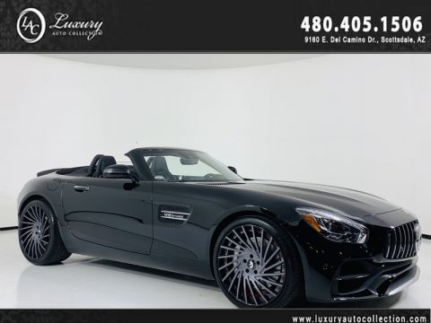 Pre-Owned 2018 Mercedes-Benz AMG® GT AMG® GT Roadster