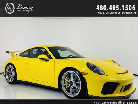 Pre-Owned 2018 Porsche 911 GT3 Coupe