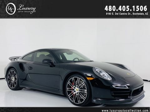 Pre-Owned 2015 Porsche 911 Turbo Coupe