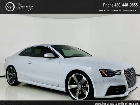 Pre-Owned 2015 Audi RS 5 Coupe in Suzuka Gray