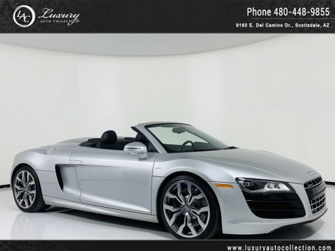 Pre-Owned 2012 Audi R8 5.2L Quattro Convertible Spyder with Gated 6 - Spd Manual