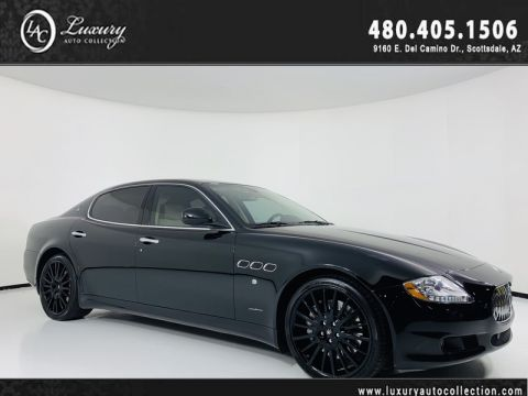 Pre-Owned 2010 Maserati Quattroporte S Sedan