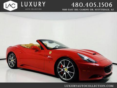 Pre-Owned 2012 Ferrari California 2+2 Convertible