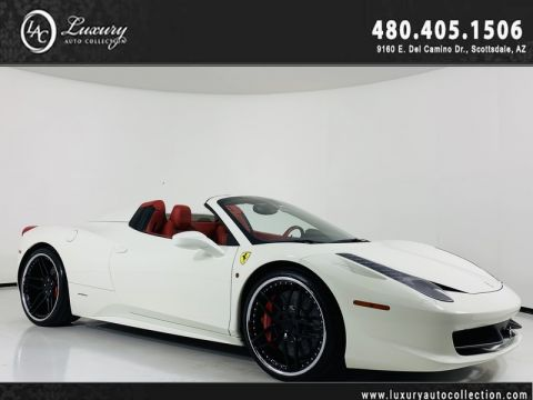 Pre-Owned 2013 Ferrari 458 Convertible