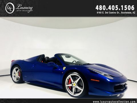Pre-Owned 2013 Ferrari 458 Italia Convertible