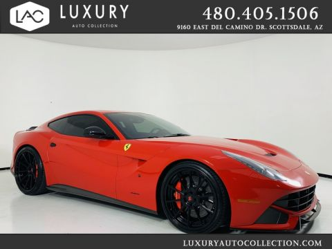 Pre-Owned 2015 Ferrari F12berlinetta Coupe 1 of 1 Custom Body Kit