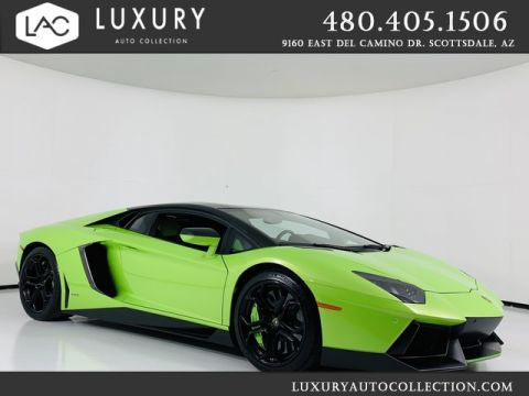Pre-Owned 2012 Lamborghini Aventador Coupe w/ IPE Exhaust