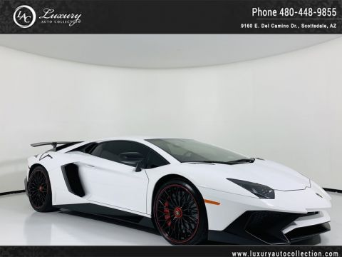 Pre-Owned 2016 Lamborghini Aventador LP 750-4 Superveloce Coupe