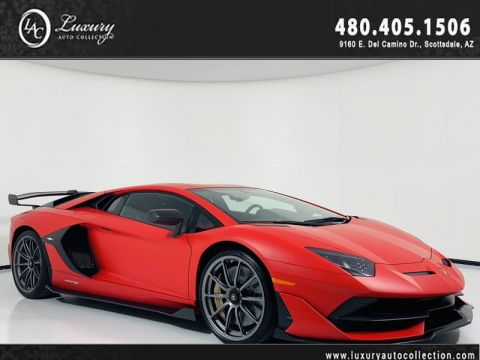 Pre-Owned 2019 Lamborghini Aventador SVJ Coupe *On the Ground and Available*